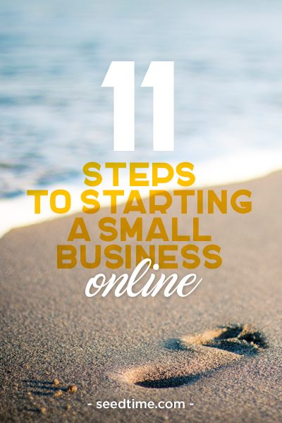 11 Steps to take to start a small business online