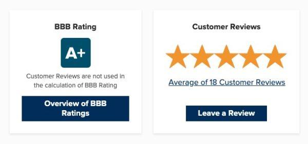 SeedTime BBB rating