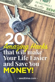 20 Amazing Hacks that will make your life easier ands save you money