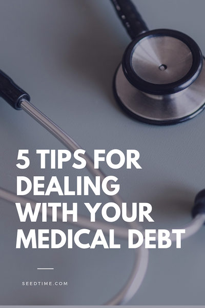Tips for dealing with your medical debt