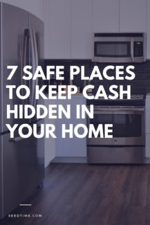 safe places to keep cash hidden in your home
