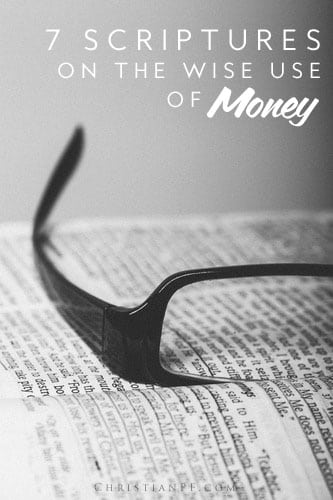 "7 bible scriptures on the wise use of money...Let's acknowledge that the American economy doesn't look good right now, but the Bible has a lot to say about provision that we should see as truth, and it's something we can hold onto, in times as dread-inducing as these. Let us see 7 different scriptures on the wise use of money and provision that the Bible offers. But before we go on, let's lay down this ""rule,"" Jeremiah 29:11:..."