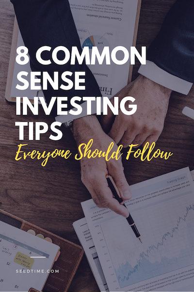 common sense investing tips