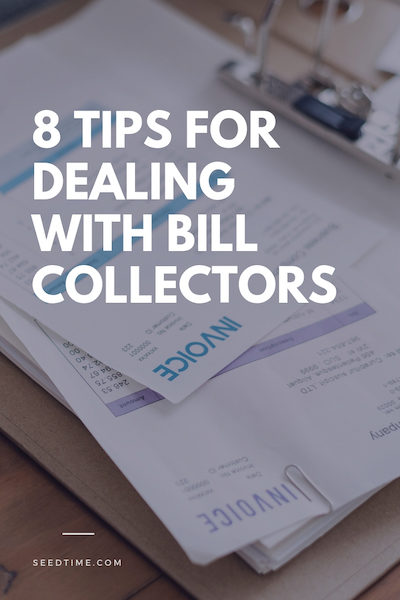 dealing with bill collectors