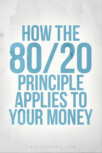 How the 80/20 rule applies to your money... http://seedtime.com/80-20-principle