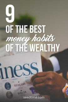 9 of the best money habits of the wealthy