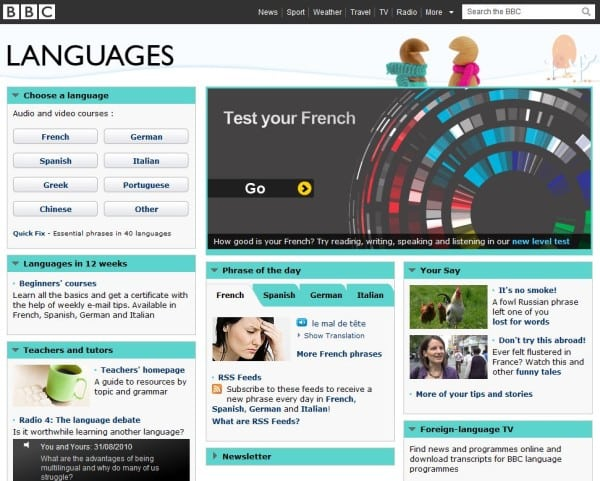 Learn a Foreign Language for Free