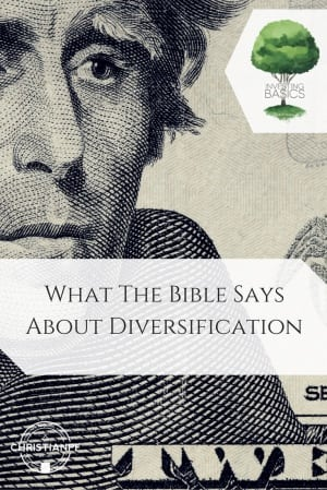 What the Bible says about diversification...