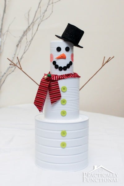 Tin Can Christmas Craft