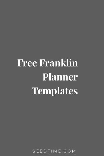 If you are like me and a little bit taken back by the high price of replacing the pages in your Franklin planner, I just found a great alternative.
