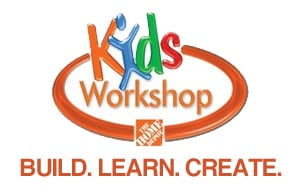 Free Home Depot Kids Workshp