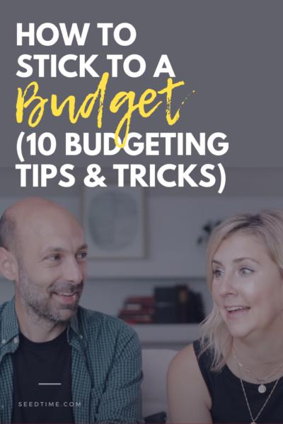 Como respeitar um orçamento (10 dicas e truques de orçamento)
