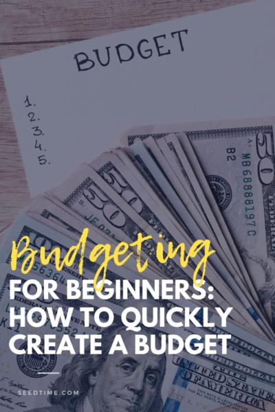 Orçamento para iniciantes