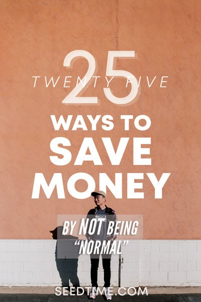 25 Ways to Save Money