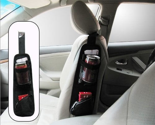 Seat Side Storage