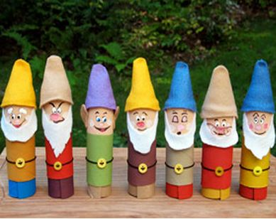 paper roll characters