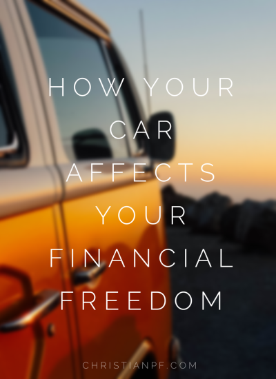How your car dramatically affects your financial freedom