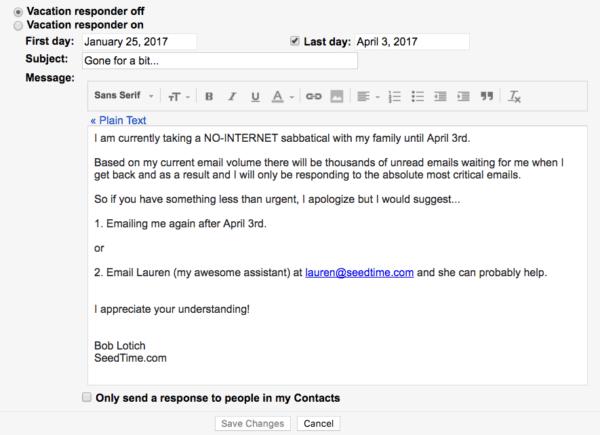 Gmail autoresponder image