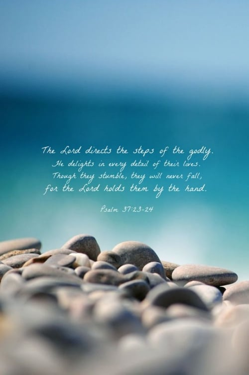The Lord delights with every detail of your life!