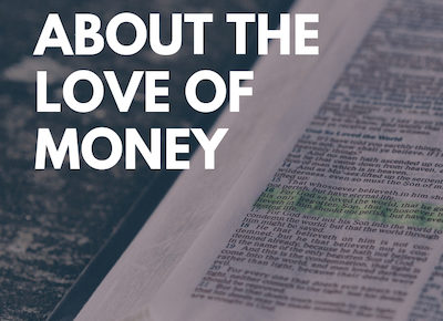 bible verses about the love of money