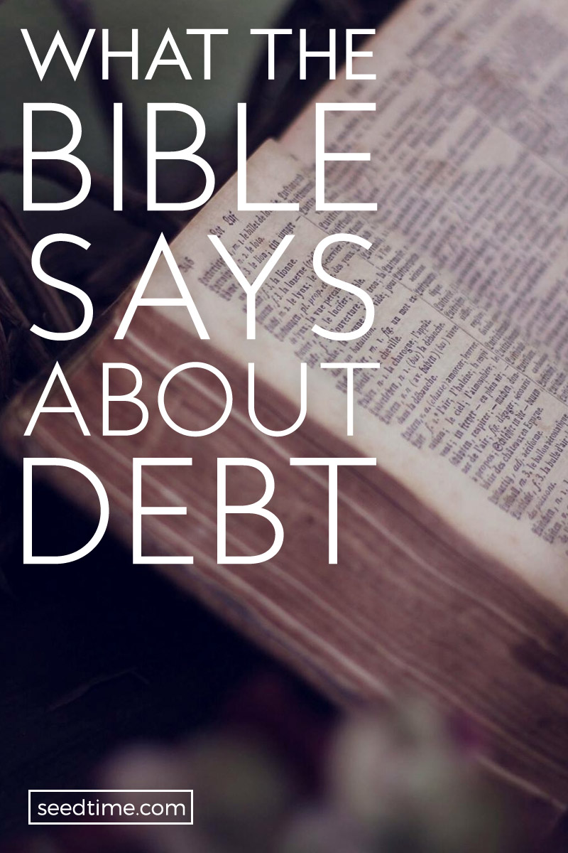 Before you begin your journey to get out of debt, it is important to know what the Bible says about debt.
