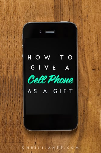 How to give a cell phone as a gift...Thinking about getting that fancy new cell phone for your someone special this Christmas? Great idea!  But before you head to your local cell phone store, there are a handful of important tips you should know so that you don't spoil the surprise or hit a roadblock.  As an ex-employee of a major cellular carrier, I've seen it all.  People walk through the door expecting to purchase a cell phone for their loved one, only to walk out with nothing. Why does this happen and what can you do about it?...