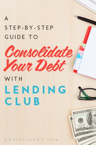 This is a much cheaper, faster, and easier way to consolidate your debt rather than using traditional banks or debt consolidation companies. Lending club makes the process extremely simple and extremely cost effective -