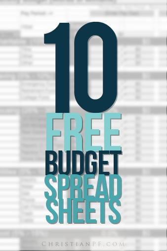 A bunch of free budgeting spreadsheets available to download...Personally, I love Excel and get a kick out of building spreadsheets, but I know not everyone is as interested in that as I am. ;) But whether you like to create spreadsheets or just like to use them, we have a lot of good options for you! <br/>Each one of the sheets below are free and are designed to be used with Excel, but will more than likely work if you use OpenOffice (basically a free version of Microsoft Office). Some may also work with Google Docs, but I have had bad luck with some of my imports into Google Docs....