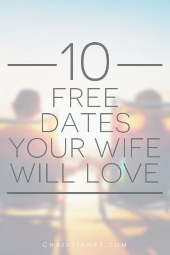 "10 free date ideas that your wife will love - /10-free-dates-your-wife-will-love/...Alright, I can't guarantee that she will ""love"" all of them, I mean what kind of guy would I be if I completely understood women? ;) But, I am sure that she will at least love some of them, depending on the type of lady you have.  By ""date"" I am referring to anything you can do alone for a couple hours with your wife/girlfriend. If you have kids, you might just have to bite the bullet and pay a sitter for a couple of hours, but at least the date itself can be free!..."