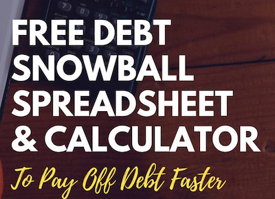 free debt snowball worksheet and calculator