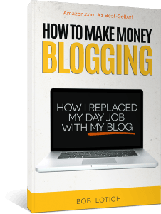 Super long article with detailed steps of how one blogger grew his blog to a full-time job