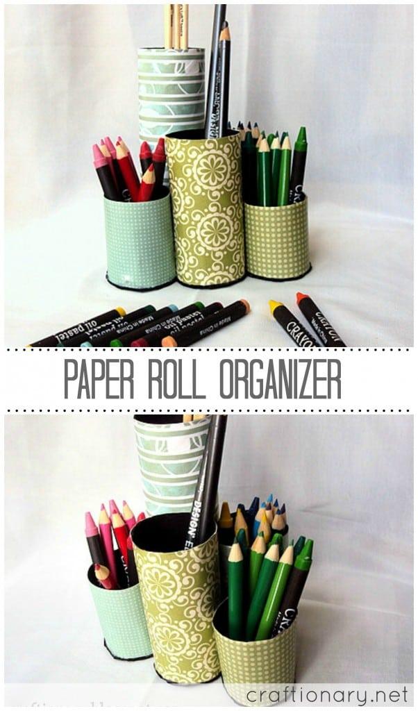 paper roll organizer