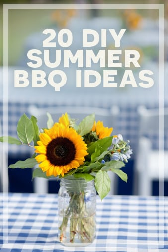 20 #DIY summer #BBQ ideas  -  http://seedtime.com/ideas-summer-bbq...For me, there is no better way to enjoy Summer than spending time with family and friends in our back yard.  If you are like me and love to host gatherings at your home, I wanted to share some of my best finds on the internet when it comes to Summertime BBQ's. Below, you will find 20 DIY Ideas for a Great Summer BBQ...