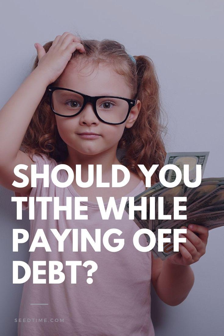 Uma das perguntas que recebo com frequência é: Devo dar o dízimo enquanto estou pagando minha dívida? Essa é uma ótima pergunta que não é fácil de responder.  Para ajudar a responder a isso, quero trazer alguns recursos para ajudarmos na tomada dessa decisão.