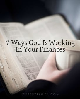 "7 ways God is working in your finances...Here are a few common questions: ""Doesn't the Bible say that money is the root of all evil? Are you implying that a holy God would stoop so low as to work through something as vile as our finances?""  My answers to those two questions are ""no"" and ""yes."" The correct Bible quote is:  For the love of money is a root of all kinds of evil. Some people, eager for money, have wandered from the faith and pierced themselves with many griefs. – 1 Timothy 6:10 NIV  Money is amoral, neither good or bad; how we handle it is the challenge...."
