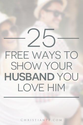 Her wife love you show ways to Husbands: Ten