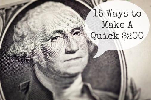 Ways to make money quickly