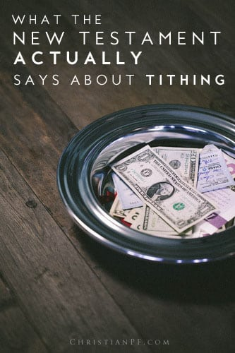 What the new testament says about tithing - #tithing #tithes